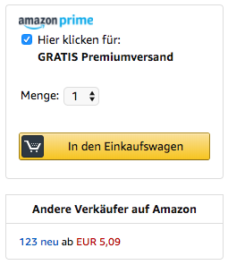 Amazon-SEO Buy Box