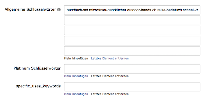 Amazon-SEO: Keywords optimieren